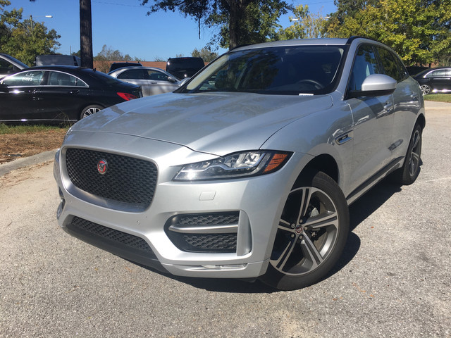 certified pre owned 2017 jaguar f pace 20d r sport sport utility in charleston ja1634l land. Black Bedroom Furniture Sets. Home Design Ideas