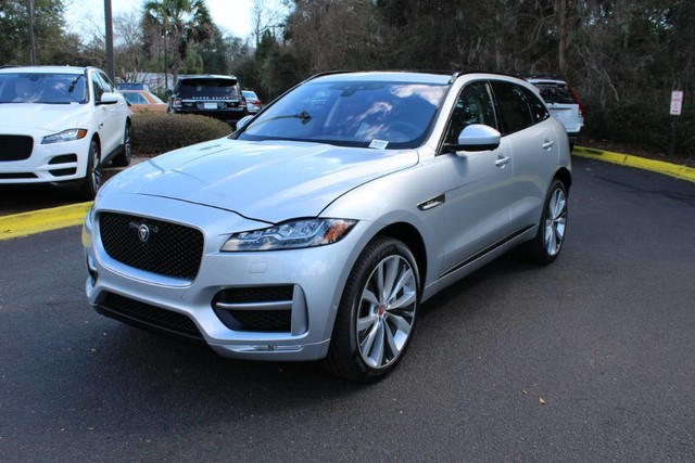 pre owned 2017 jaguar f pace 35t r sport suv in charleston ja1659l land rover west ashley. Black Bedroom Furniture Sets. Home Design Ideas